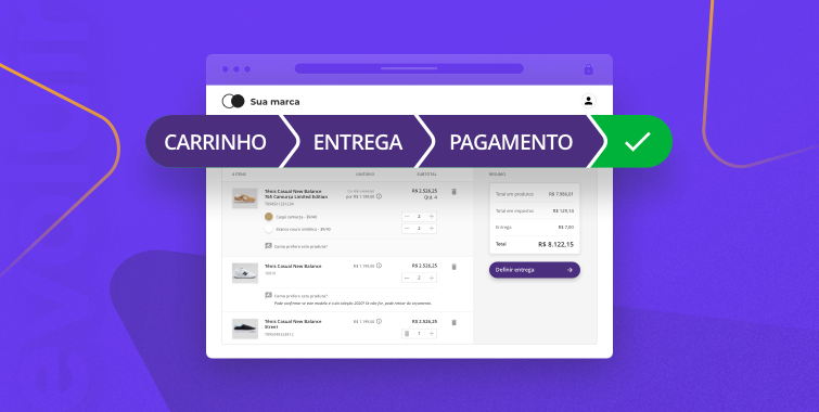 Novo checkout no e-commerce B2B